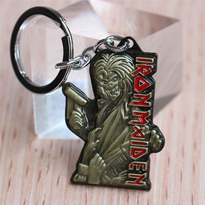 Iron Maiden Death Logo Keychain Keychain Buy top quality Iron Maiden Death Logo Keychain Keychain online in India at low price. get free shipping all across India Only at  Dot Aero
