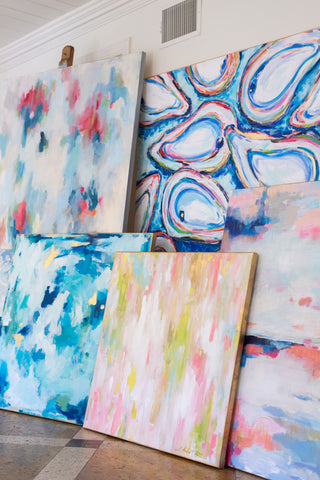 Lisa Anderton canvases