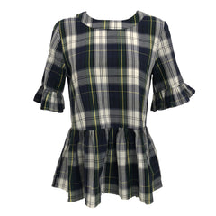plaid Betty b top