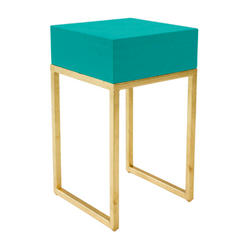 turquoise Tristan side table