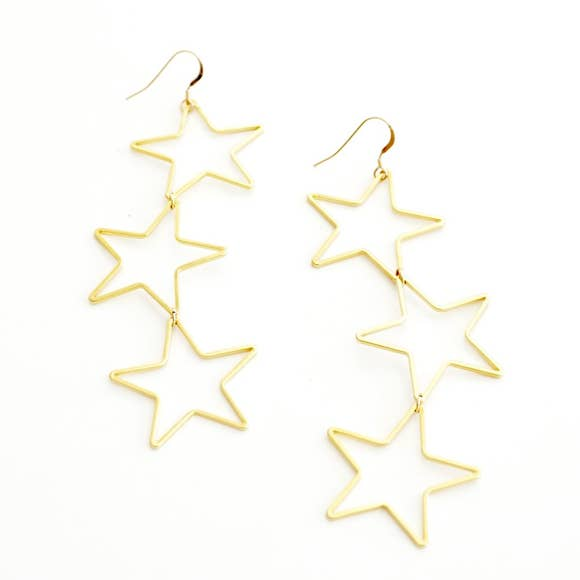 Earrings | Triple Star