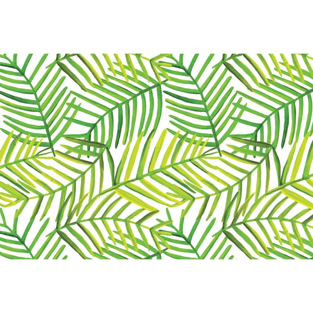 Green Leaf Paper Placemat Pad
