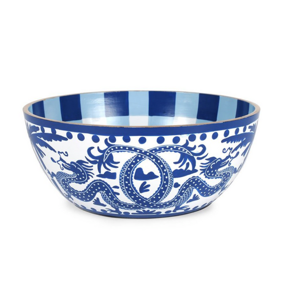 Milly & Lilly Blue Dragon Bowls