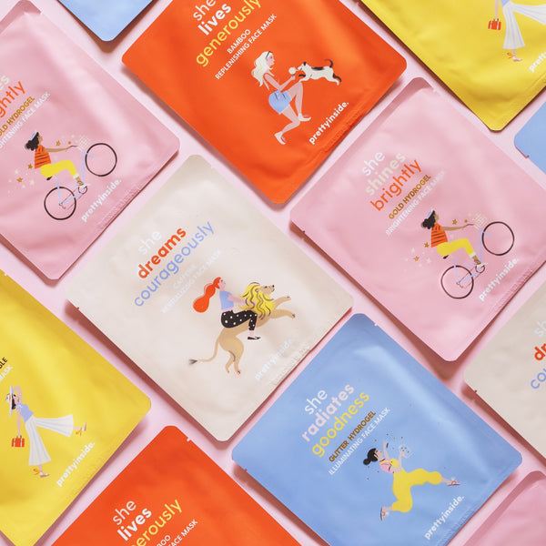 Musee x Prettyinside Face Masks