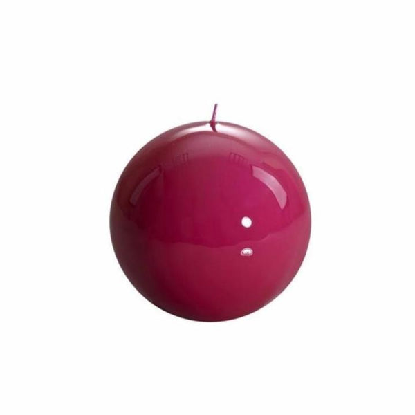 Fuchsia Ball Candle, 120mm