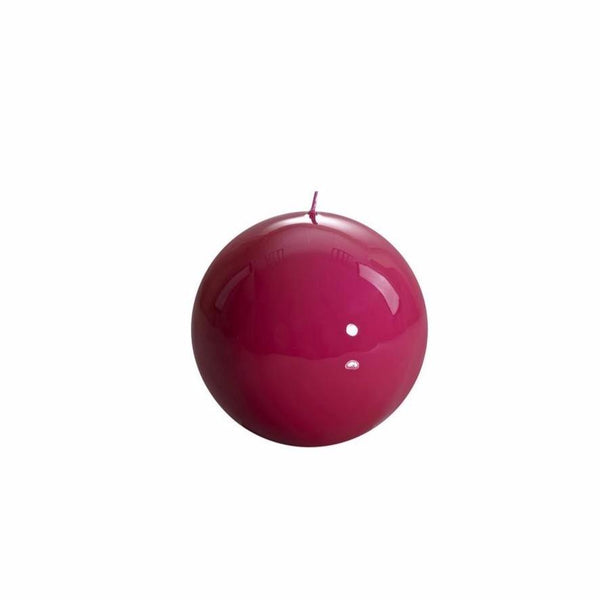 Fuchsia Ball Candle, 100mm