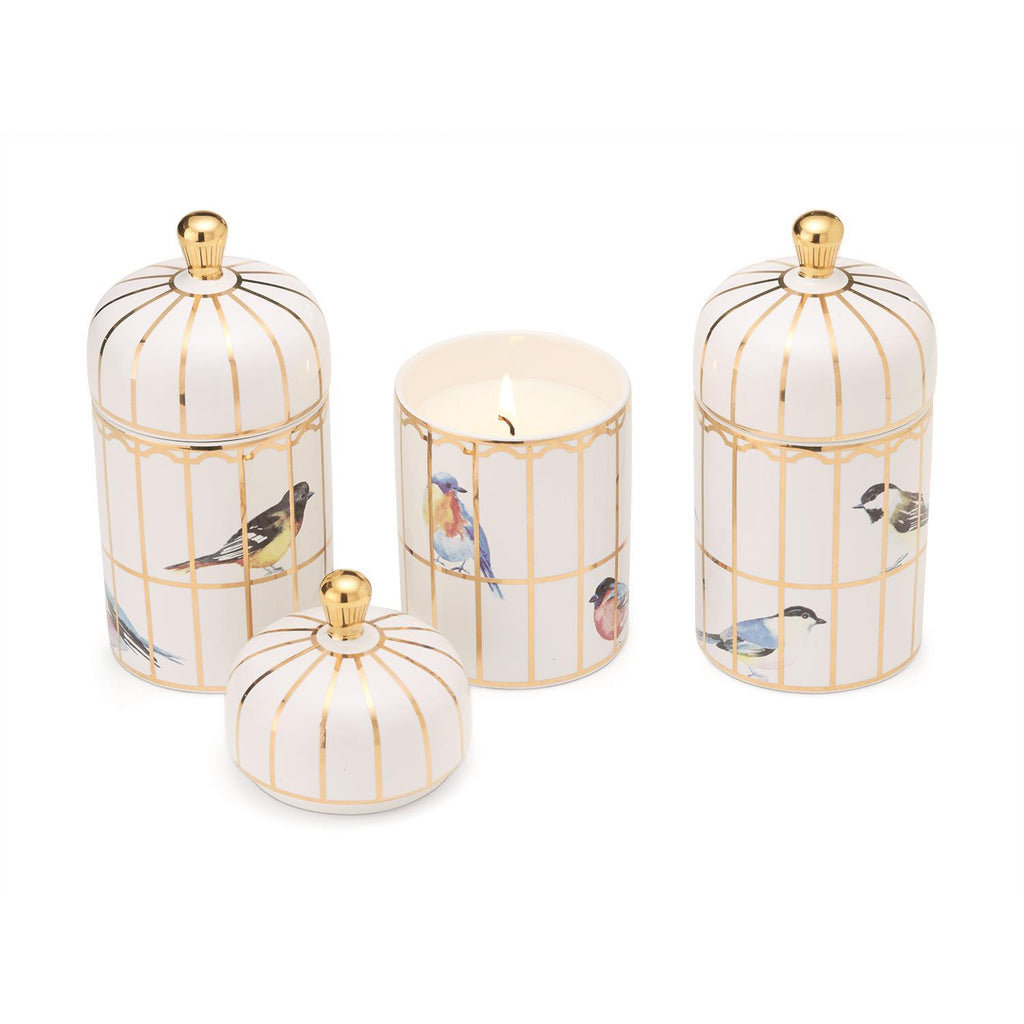Gilded Cage Lidded Filled Candle | Lemon Verbena