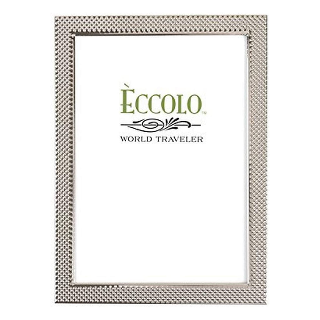 Silverplate Pin Dot Frame | 5x7