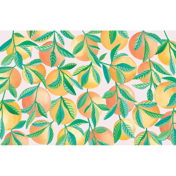Fruit Grove Paper Placemat Pad