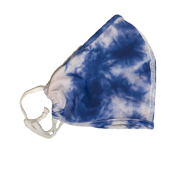 Face Mask | Blue Tie Dye