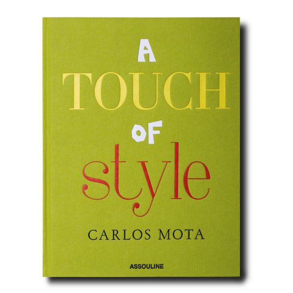 """A Touch of Style"" Book-Assouline-The Grove"