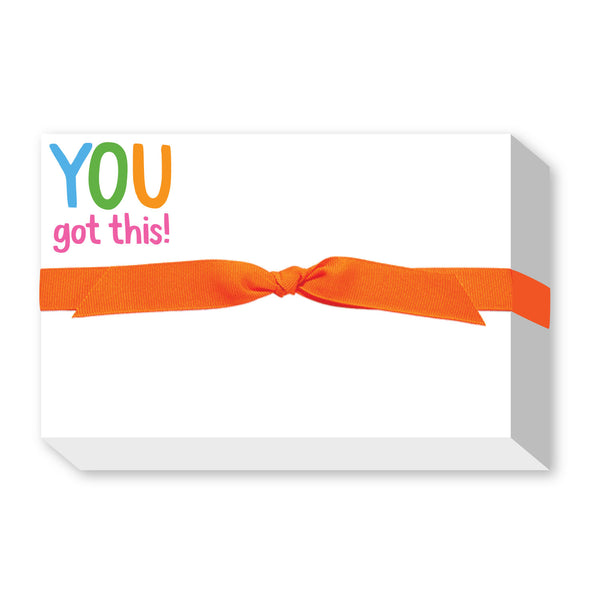 You Got This Big & Bold Notepad