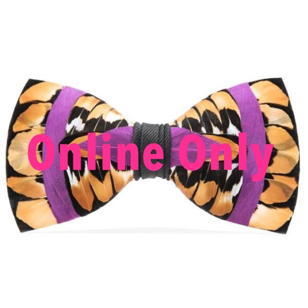 Feather Bow Tie | Bayou