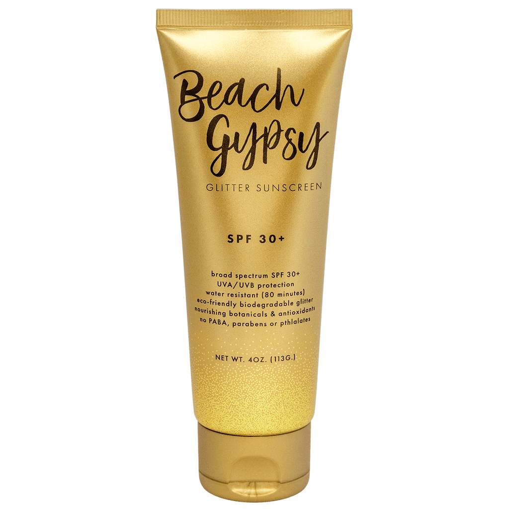 Beach Gypsy SPF30+ Biodegradable Glitter Sunscreen-Sunshine & Glitter-The Grove