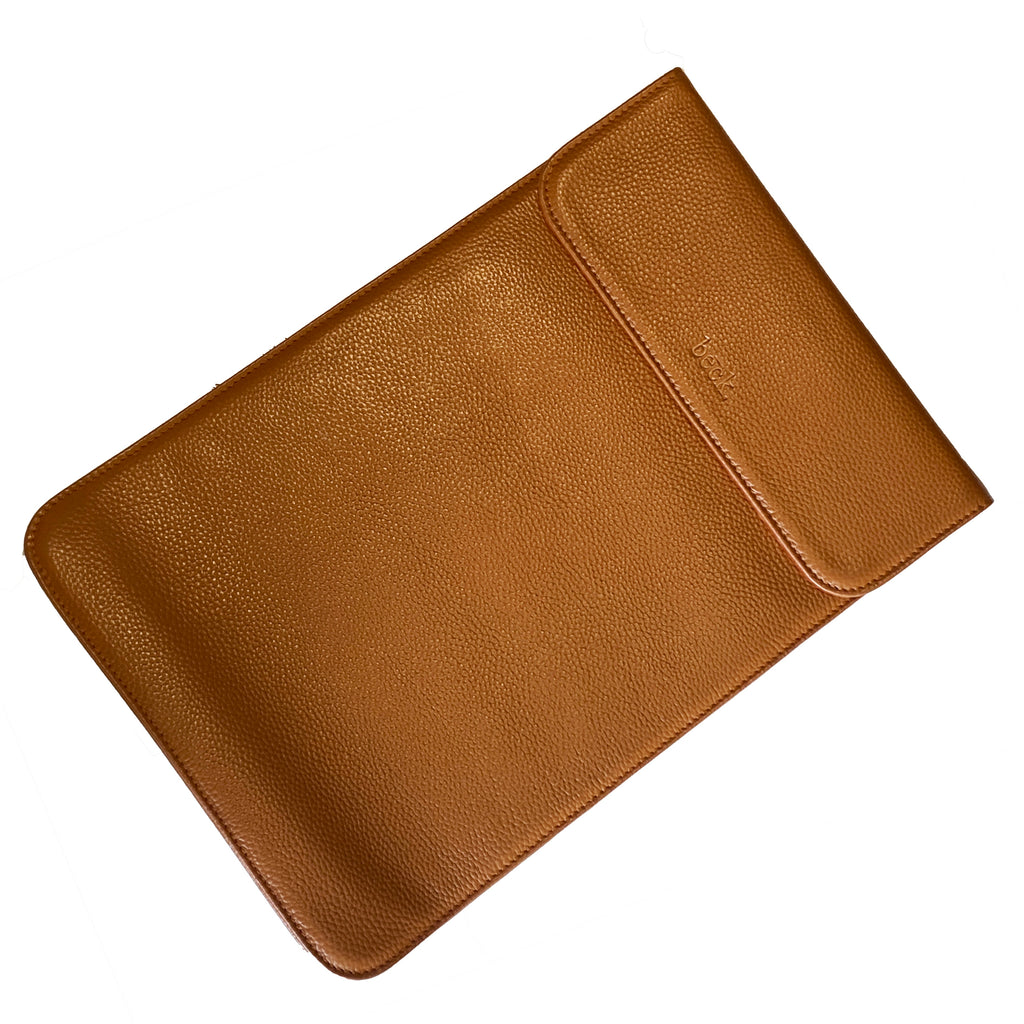 Leather Laptop Sleeve | Teddy