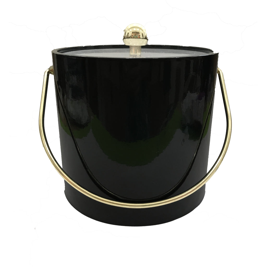 Mr. Ice Bucket Black Lucite Ice Bucket - thegrovewp