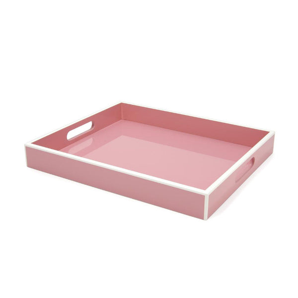 Swing Blossom Pink Lacquer Tray - thegrovewp