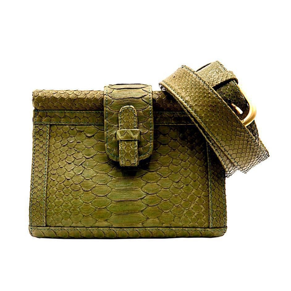 Carmen Belt Bag | Moss