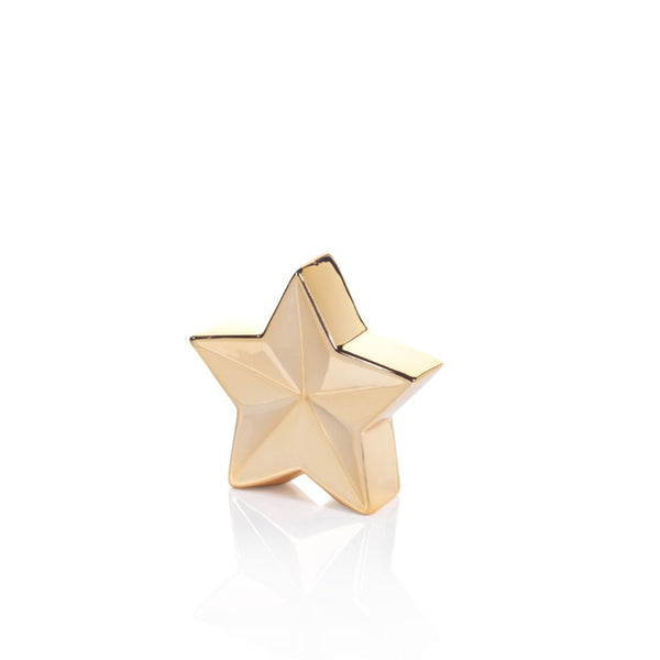 Five Point Metallic Gold Star | 3 Sizes