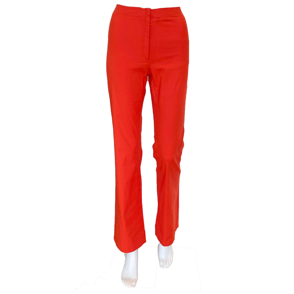 Meister Pant | Red Stretch Linen