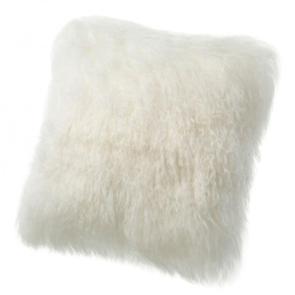 Auskin Ivory Sheepskin Pillows - thegrovewp