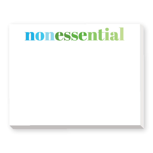 Nonessential Notepad