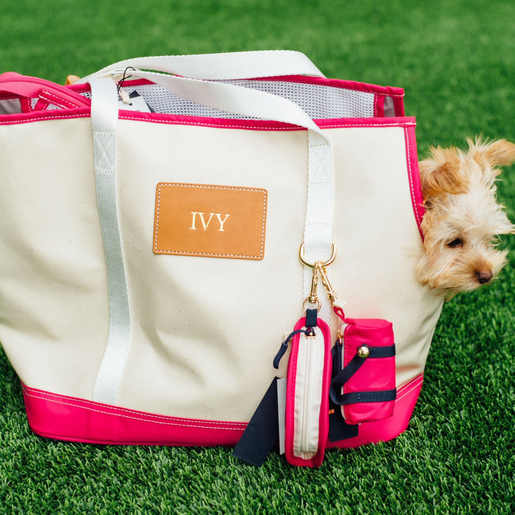 Pup Tote | Pink