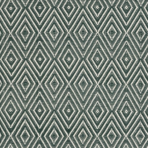 Pine & Ivory Diamond Indoor/Outdoor Rug-Dash & Albert-The Grove