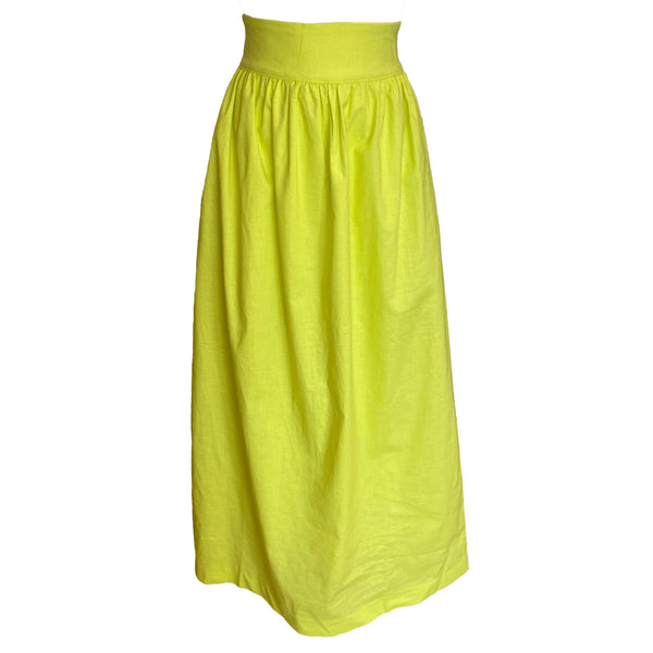 Diddle Ball Skirt | Citron