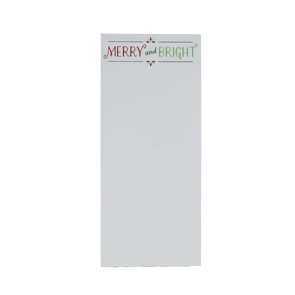 Holiday Note Pad | Merry & Bright