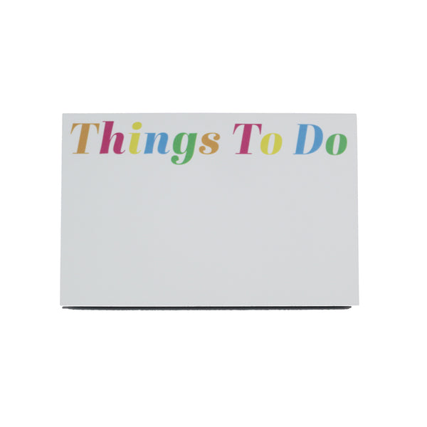 Big & Bold Notepad | Things To Do