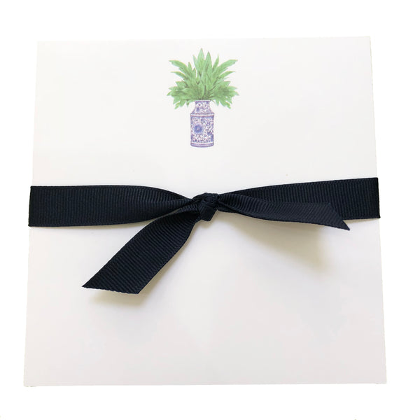 Palm Ginger Jar Notepad