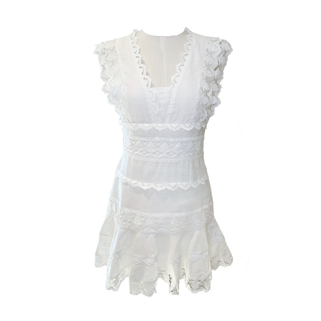 Bethany Dress | White