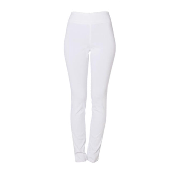 Techno Stretch Pant | White-Fabrizio Gianni-The Grove