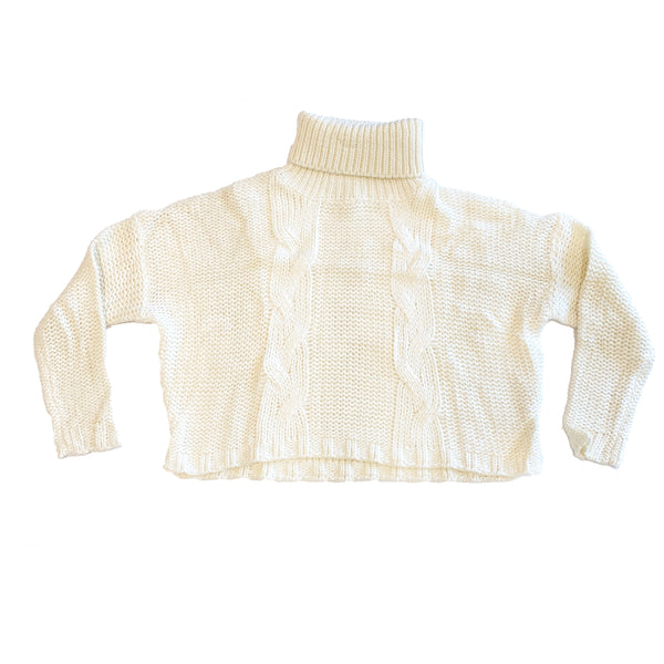 Fisherman's Knit Turtleneck Sweater