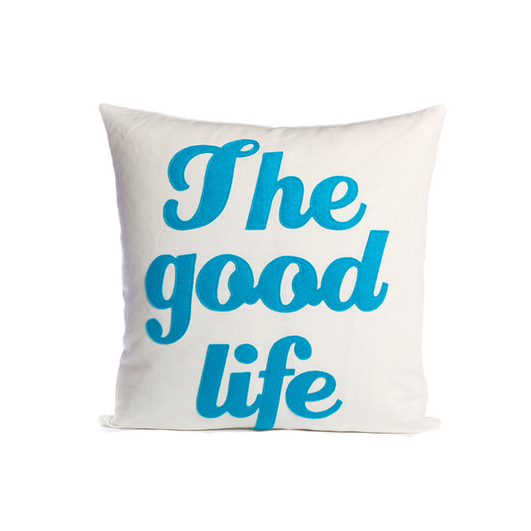 Alexandra Ferguson The Good Life Pillow - thegrovewp