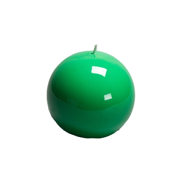 Green Ball Candle, 120mm