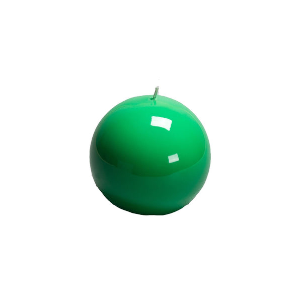 Green Ball Candle, 100mm