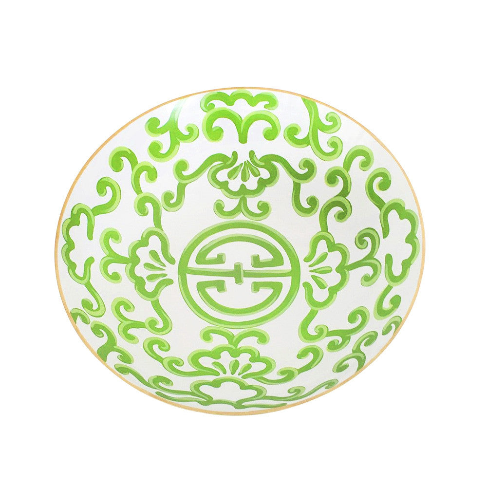 Large Green Sultan Bowl