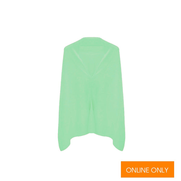 Cashmere Dress Topper | Green Apple