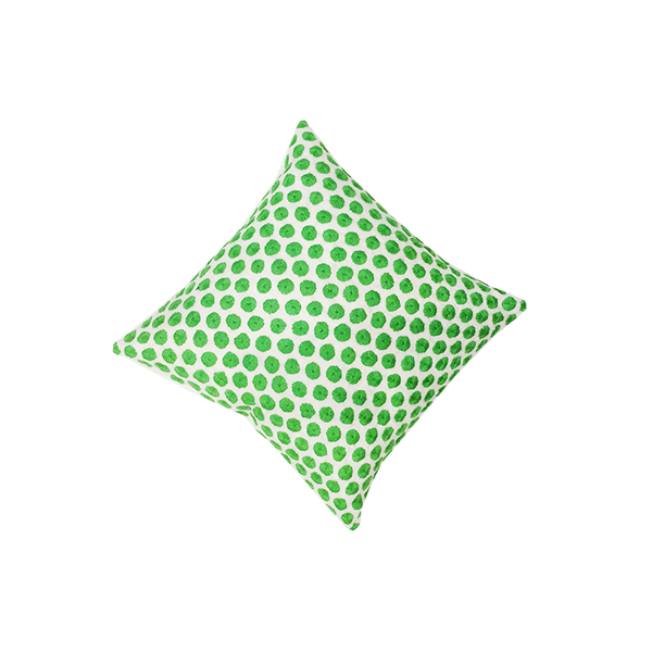 Kate Spade Green Embroidered Dot Pillow - thegrovewp