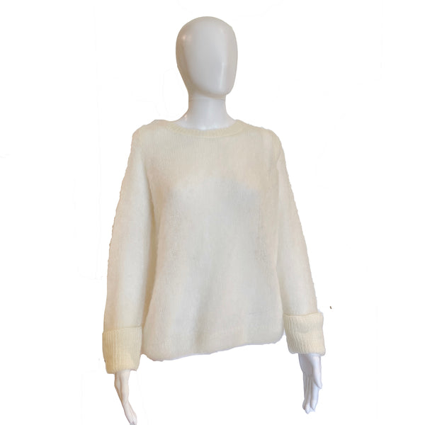 Mohair Sweater | Winter White