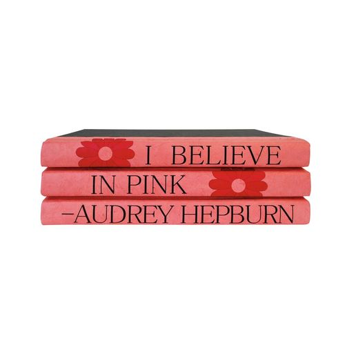 Book Series | I Believe In Pink
