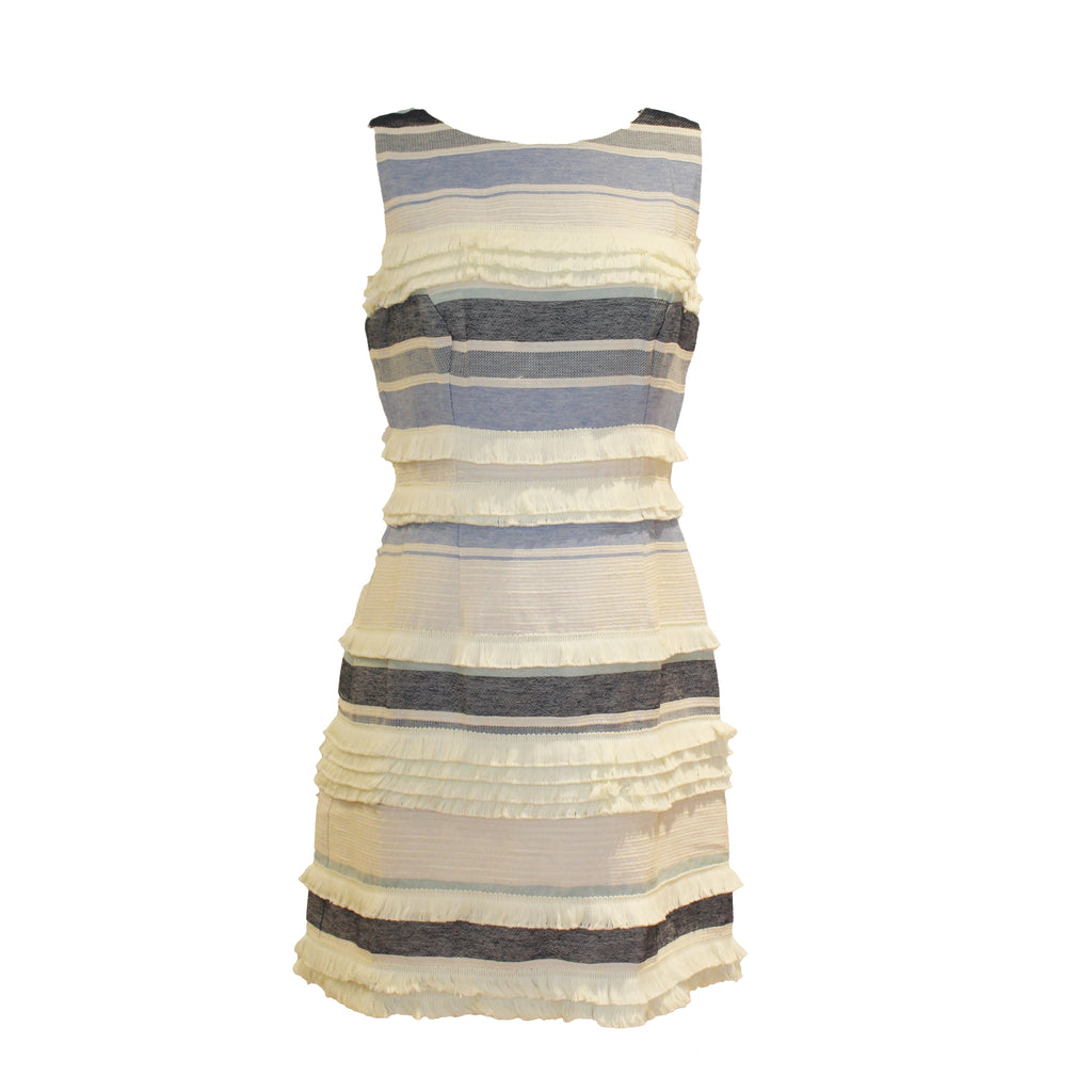 Brooks Dress | Aberdeen Linen Stripe