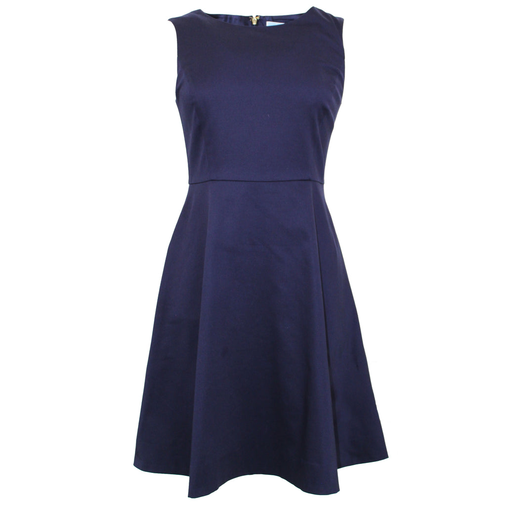 Sleeveless A-Line Dress | Nassau Navy