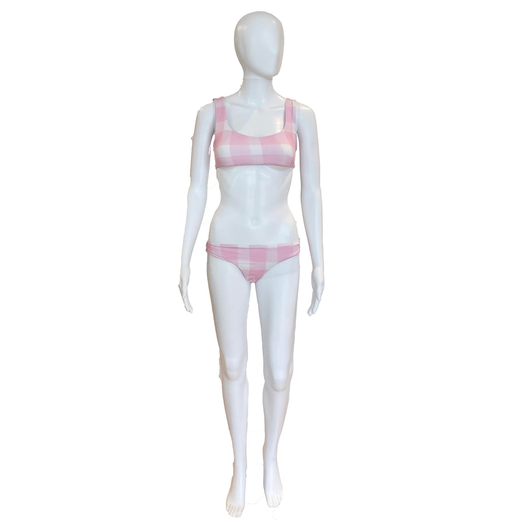Elle Reversible Bottom | Cloud Pink