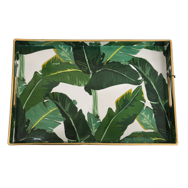 Rectangular Tray | Botanical Leaf