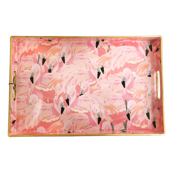 Rectangular Tray | Flamingo