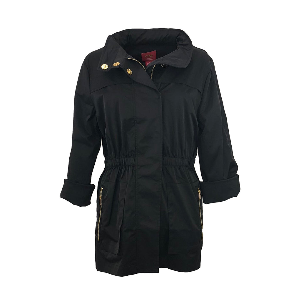Tess Anorak | Black-Ciao Milano-The Grove