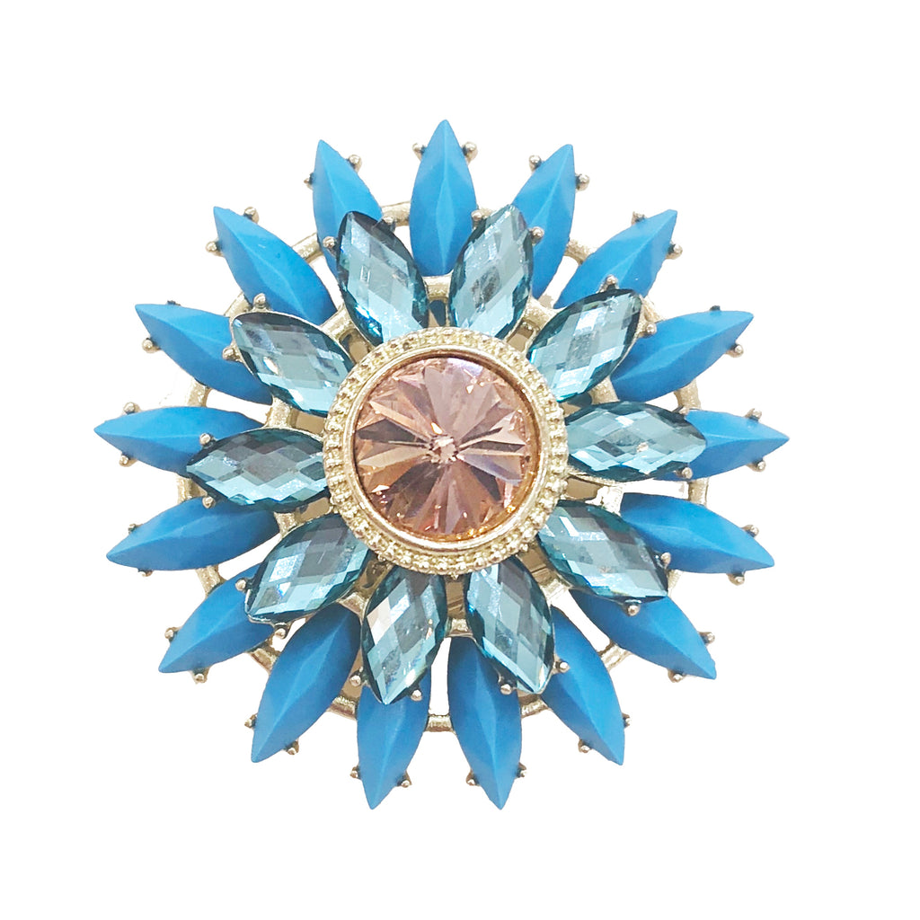 Brooch | Turquoise Jewels-Julie Brown-The Grove